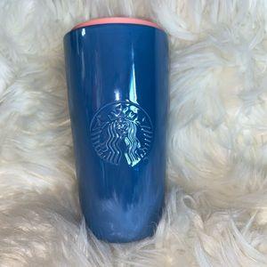 Starbucks 2020 Valentines Ceramic Blue & Pink cup